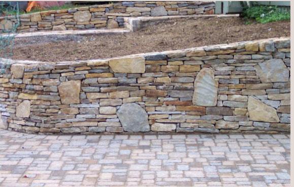 Stone Walls Walkways Pavers Veneer